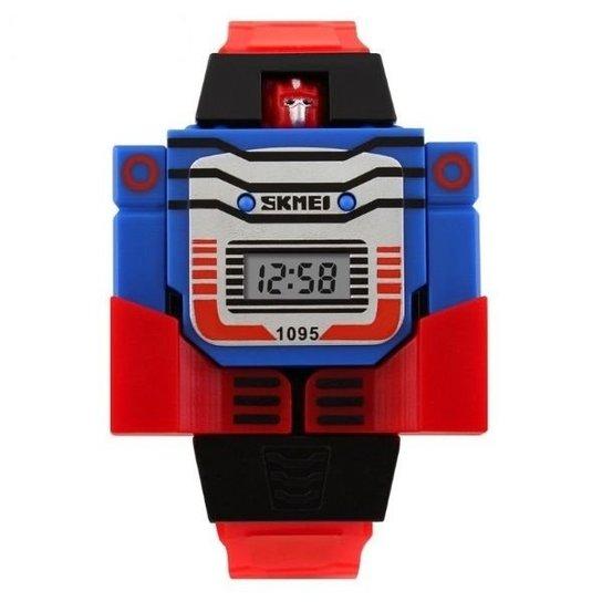 a3a11addfd1 Relógio Skmei Digital 1095 - Vermelho - Compre Agora