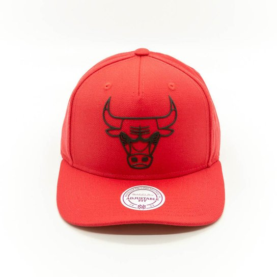 Boné Mitchell   Ness Chicago Bulls NBA Chicago Bulls Snapback - Vermelho 06dad3a9517