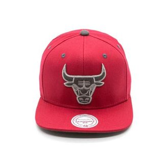 Boné Mitchell & Ness Shell Nba Chicago Bulls Aba Reta