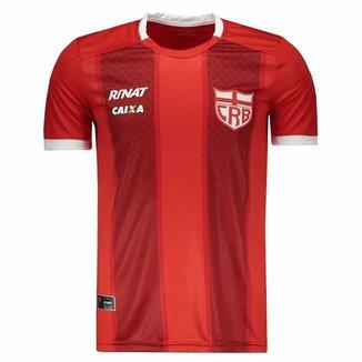 aea31e8e55 Camisa Rinat CRB Alagoas Concentração Atleta 2018 Masculina