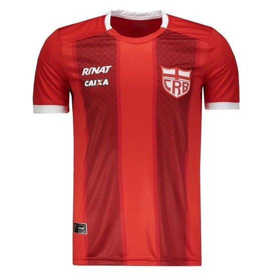 b901e9bd00 Camisa Rinat CRB Alagoas Concentração Atleta 2018 Masculina - Vermelho