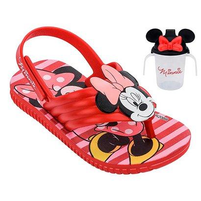 Sandália Infantil Grendene Kids Disney Minnie Feminina