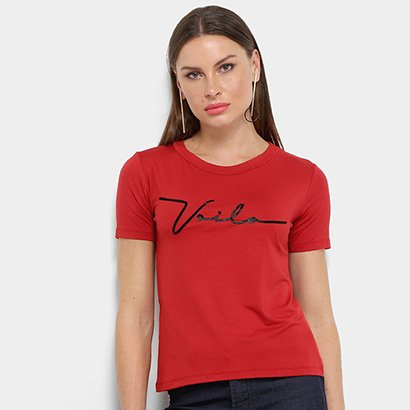 Camiseta Aura Voilá Feminina