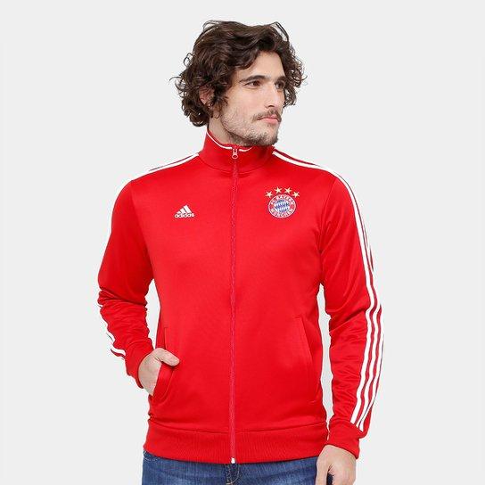 3d79b6d2d432c Jaqueta Bayern de Munique Adidas 3S Masculina - Compre Agora