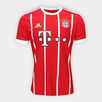 Camisa Bayern de Munique Home 17 18 s nº Torcedor Adidas Masculina 0d144212973db