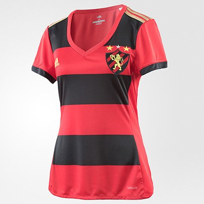 Camisa Sport Recife I 17/18 s/nº - Torcedor Adidas Feminina