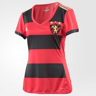985dd408df Camisa Sport Recife I 17 18 s nº - Torcedor Adidas Feminina