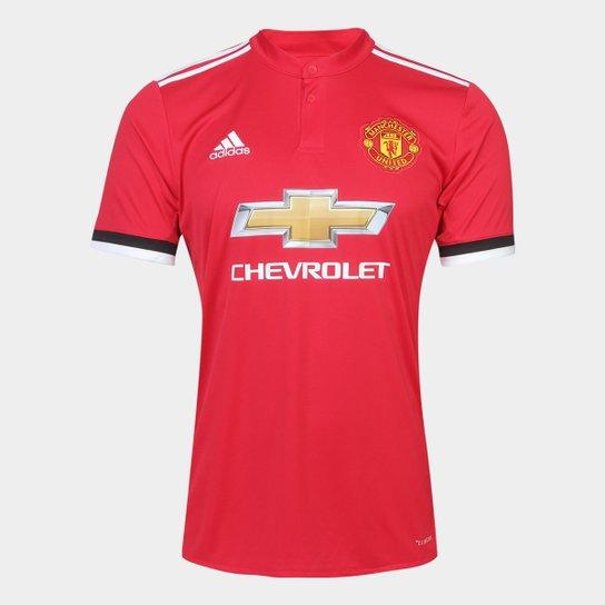 Camisa Manchester United Home 17 18 s nº Torcedor Adidas Masculina -  Vermelho a0847eb5d0ec0