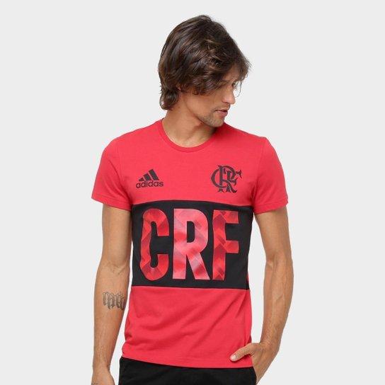 Camiseta Flamengo Adidas Grafica Masculina - Compre Agora  198f06ef0f744