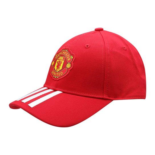 da0a39256 Boné Adidas Manchester United Aba Curva 3S Masculino - Compre Agora ...