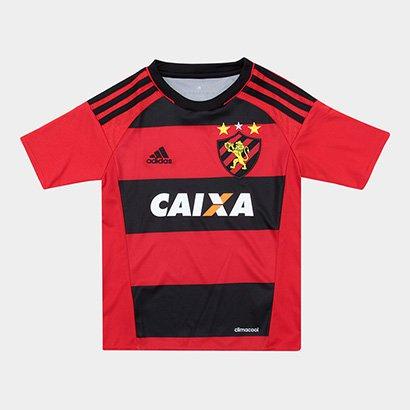 Camisa Sport Recife Infantil I 17/18 - Torcedor Adidas