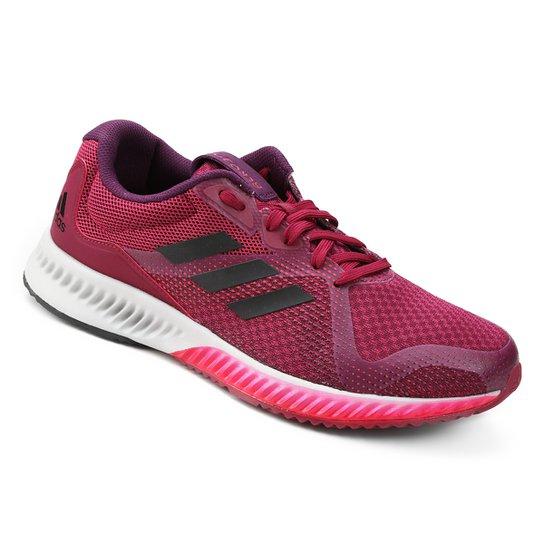 11e7802d0a Tênis Adidas Aerobounce Racer Feminino - Pink e Roxo - Compre Agora ...