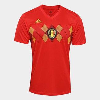 Camisa Seleção Bélgica Home 2018 s n° Torcedor Adidas Masculina bc4586914089b