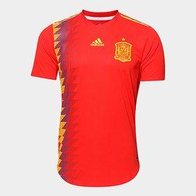 a8035373b Camisa Seleção Espanha Away 2016 s nº Torcedor Adidas Masculina ...