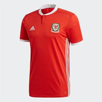 34e9c45c7c Camisa Seleção País de Gales Home 2018 s n°Torcedor Adidas Masculina