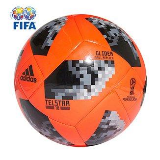 62c216ffc036b Bola Futebol Campo Adidas Telstar 18 Glider Copa do Mundo FIFA