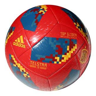 Bola Futebol Campo Adidas Telstar 18 TOP Glider Espanha Copa do Mundo FIFA 298e884e59a37