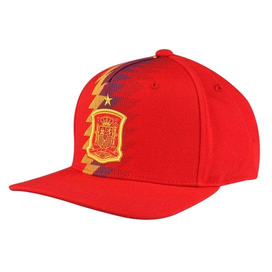 Boné Seleção Espanha Adidas Aba Reta - Vermelho - Compre Agora ... 0e6e6d8721d