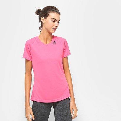 Camiseta Adidas Mc D2M Lose Feminina