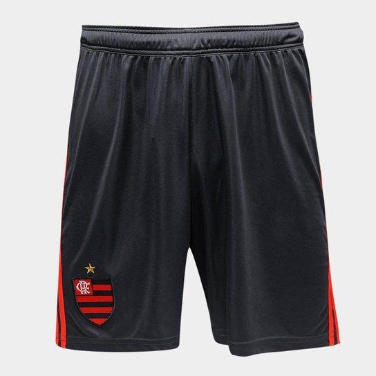 aa19dfc65e Calção Flamengo II 2018 Adidas Masculino - Vermelho - Compre Agora ...