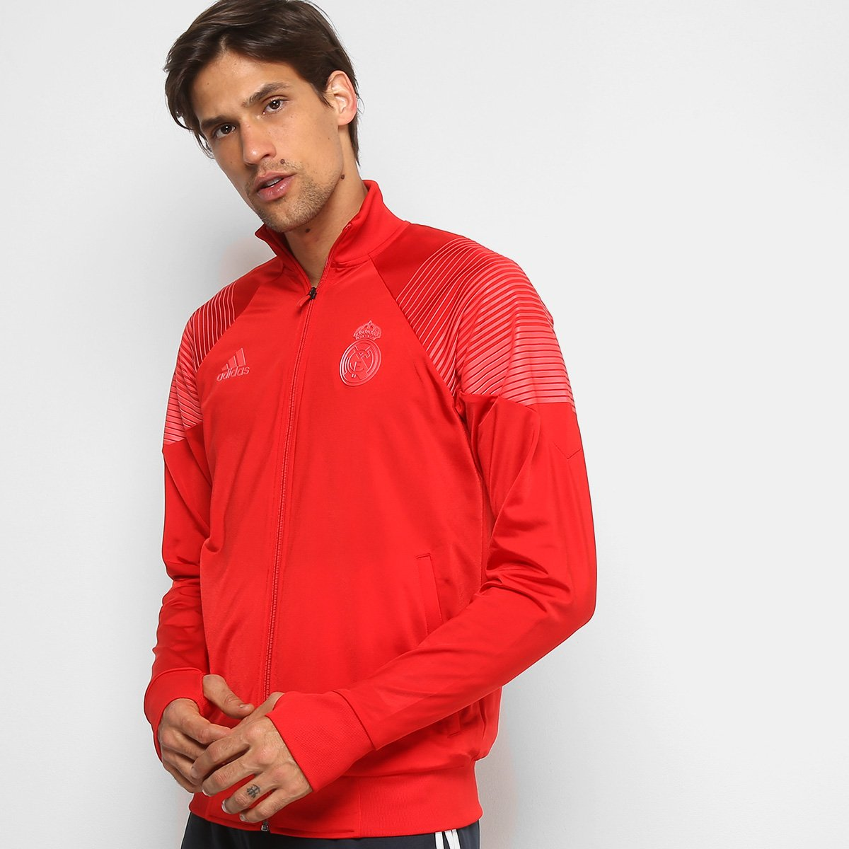 Jaqueta Real Madrid LIC Adidas Masculina f788b3b3d70bd