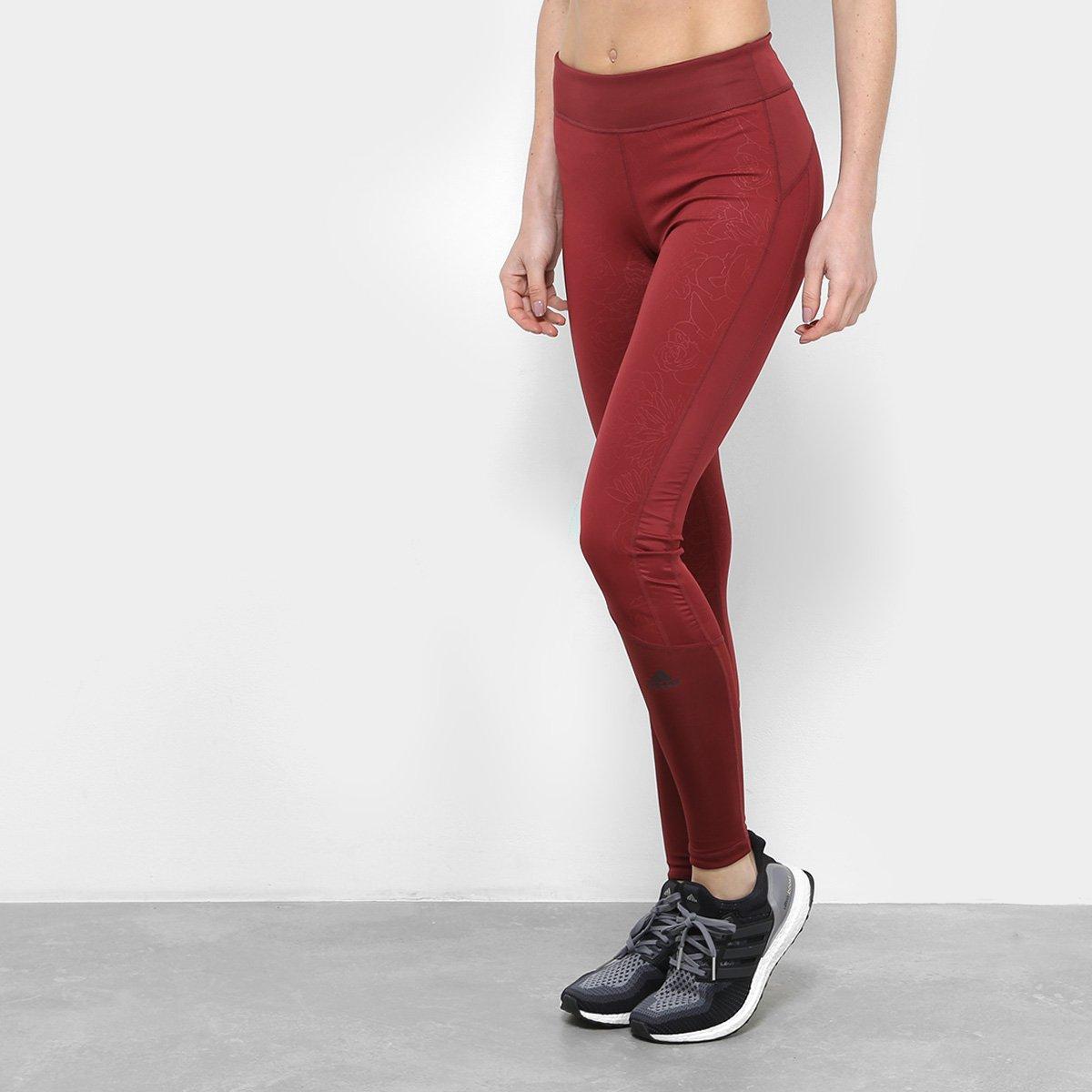 acdcda792898d Calça Legging Adidas D2M Rr L Rtg Feminina