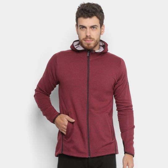 f49732deb1 Jaqueta Adidas Fl Prime Hoodie c  Capuz Masculina - Vermelho ...