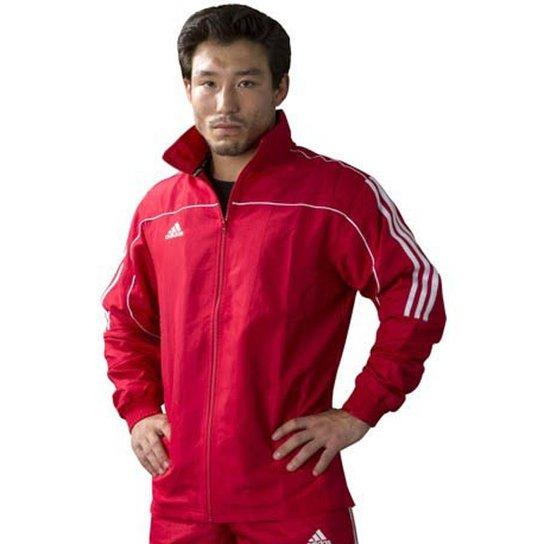 737f0c2db0 Jaqueta Adidas Quebra Vento Masculina - Vermelho - Compre Agora ...