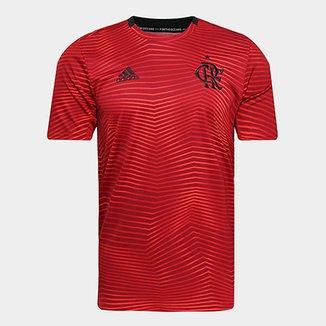 1a46558d6 Camisa Flamengo 19 20 S Nº Pré-Jogo Adidas Masculina