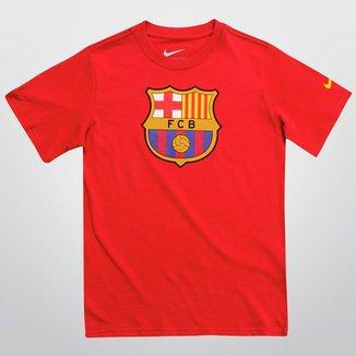 Camiseta Nike Barcelona TD Juvenil 18ba06ccba4