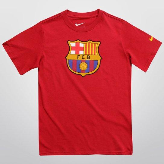 Camiseta Nike Barcelona TD Juvenil - Compre Agora  ae92e21108037