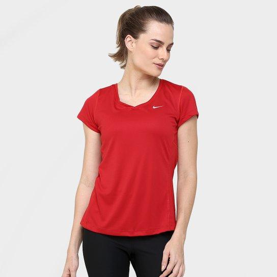 e8b9dc336b Camiseta Nike Dri-Fit Miler Feminina - Compre Agora