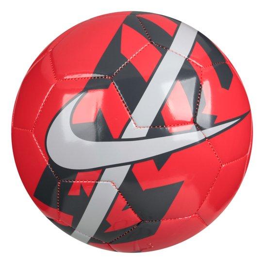af1002707c Bola Futebol Nike React Campo - Vermelho - Compre Agora