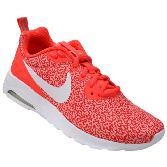 promo code 9541f cac01 Tênis Nike Air Max Motion Lw Print - Vermelho