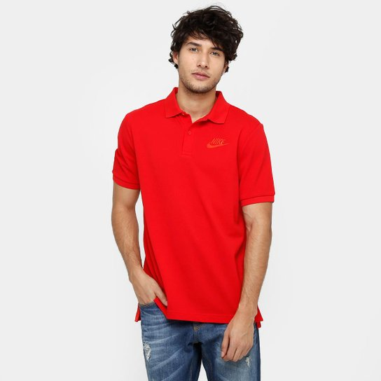 Camisa Polo Nike Nsw Pq Matchp Masculina - Vermelho - Compre Agora ... 90f50c52baa54