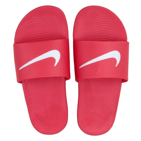 d6930ee3c0 Sandália Nike Kawa Slide Masculina - Vermelho | Netshoes