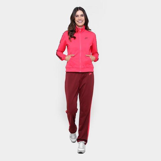 3615cb7403 Agasalho Nike Pk Oh Feminino - Vermelho - Compre Agora