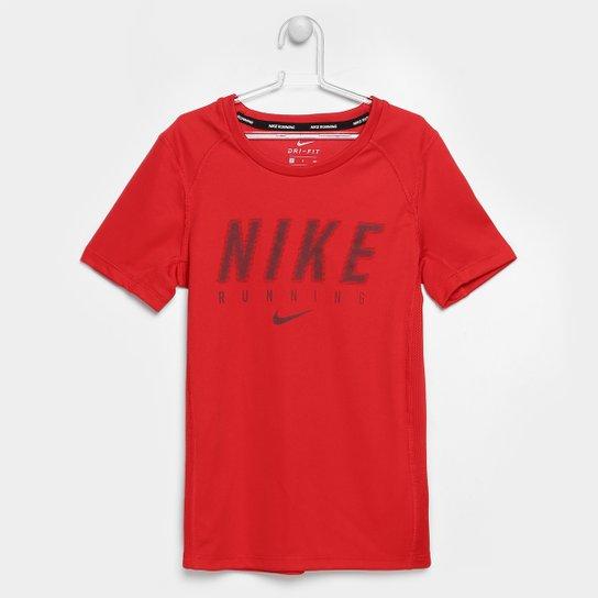 ccc6939c714 Camiseta Infantil Nike Dry Top Ss Miler Gfx Masculina - Compre Agora ...