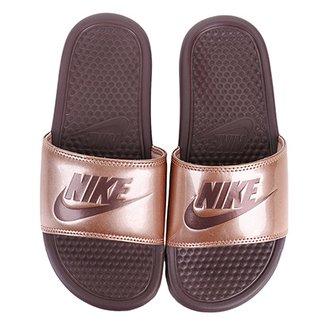 f1870bc06bf Sandália Nike Benassi Jdi Print Feminina