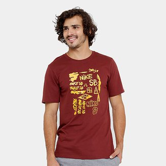 50a779845f1d5 Camiseta Nike SB Tee Tc Art Masculina