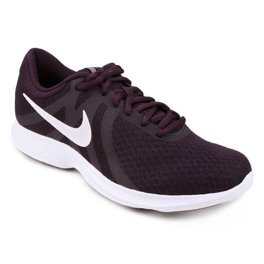 f0b9cf2121bc9 Tênis Nike Wmns Revolution 4 Feminino - Roxo - Compre Agora
