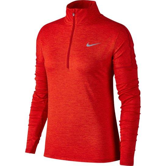 Camiseta Nike Dry Element Half-Zip Manga Longa Feminina - Compre ... 106cdbf7dc9c0