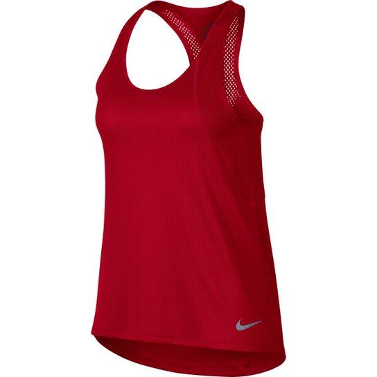 Regata Nike Run Feminina - Vermelho - Compre Agora  7048902085e