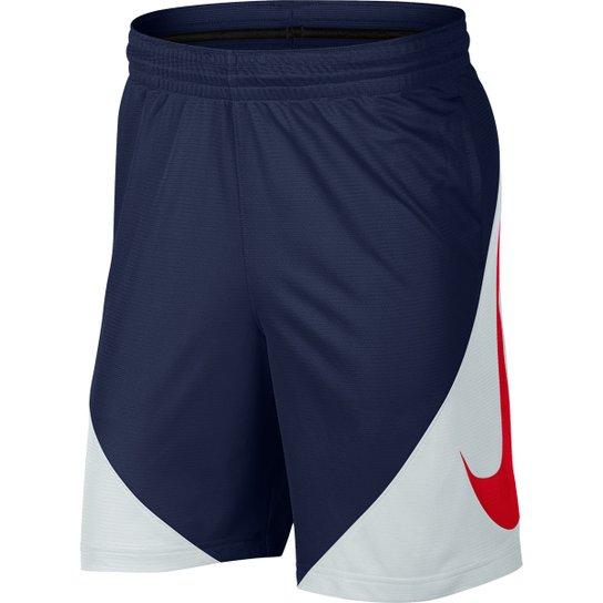 4167dc81d3 Bermuda Nike HBR Masculina - Marinho e Vermelho - Compre Agora ...