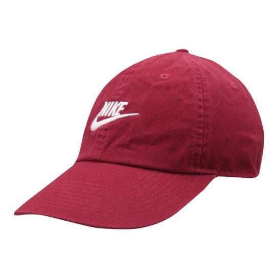 48185ffba7 Boné Nike Aba Curva U Nsw H86 Futura Washed - Vermelho - Compre ...