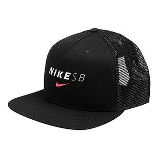 1757bce93ac74 Boné Nike Aba Reta U Pro Scrn Prt Trucker