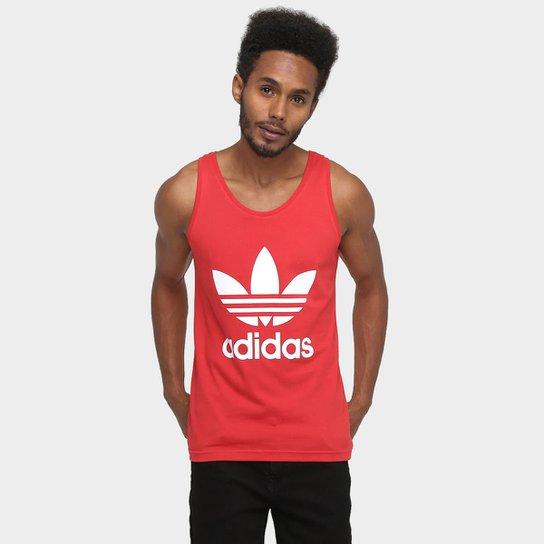 a190115c0285d Camiseta Regata Adidas Originals Trefoil - Compre Agora