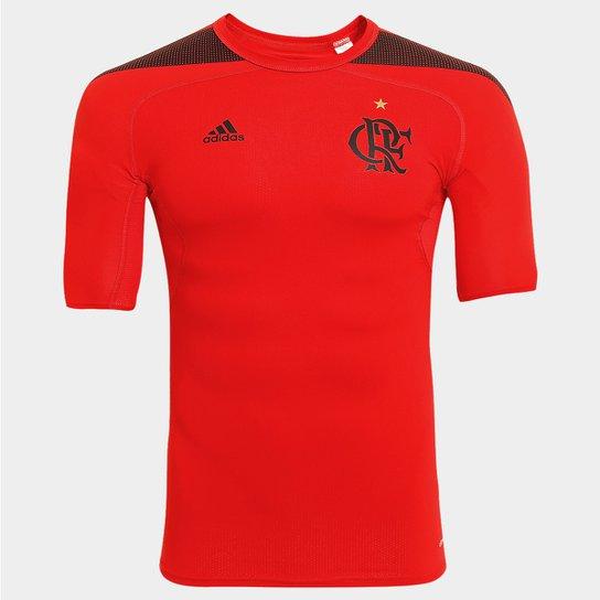 Camisa de Compressão Adidas Flamengo - Compre Agora  e6ce74ad93358