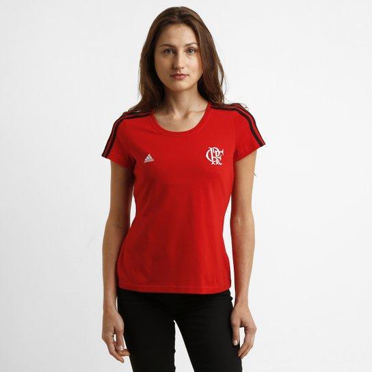 Camiseta Adidas Flamengo 3S - Compre Agora  701755b114969