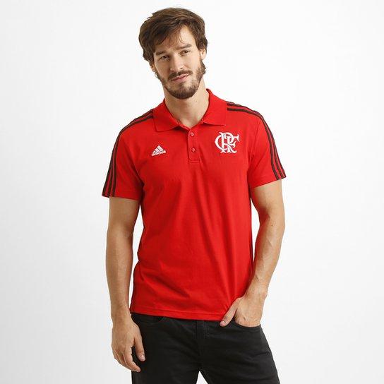 9744375141 Camisa Polo Adidas Flamengo 3S - Compre Agora